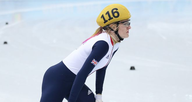 Elise Christie: a medal at last after Sochi disappointments