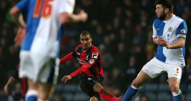 Lewis Grabban: Scores the only goal at Blackburn