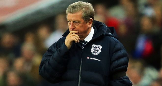 England manager Roy Hodgson may take some young players to Brazil.