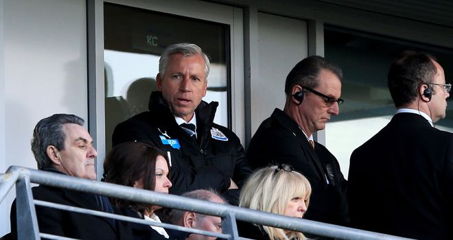 Alan Pardew: Newcastle will not impose any further disciplinary action on their manager