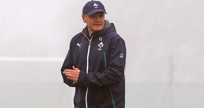 Joe Schmidt: Ireland coach has left flankers Peter O'Mahony and Sean O'Brien out of the Argentina tour so they can rehabilitate for next year's World Cup