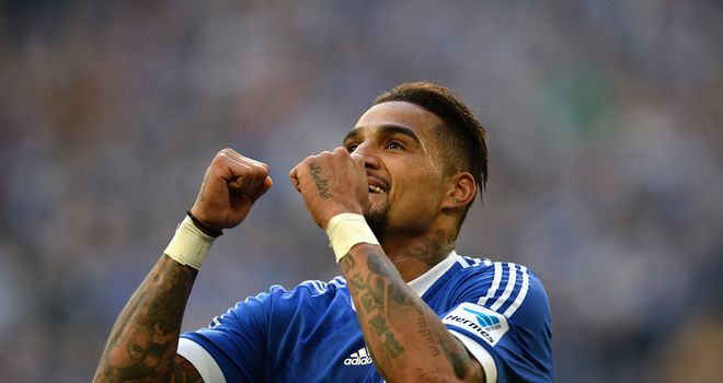 Kevin-Prince Boateng was on target for the hosts