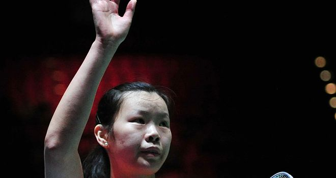 Li Xuerui finished with a flurry to reach the All-England Open final