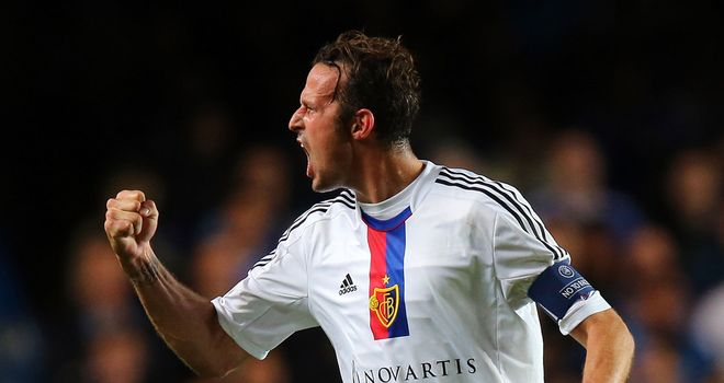 Marco Streller: On the scoresheet for Basel