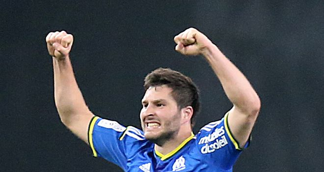 Andre-Pierre Gignac rescued a point for Marseille