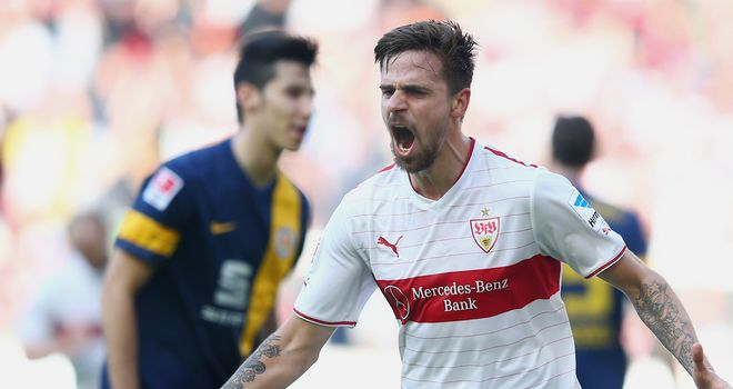 Harnick gave Stuttgart the lead but they could not hold on