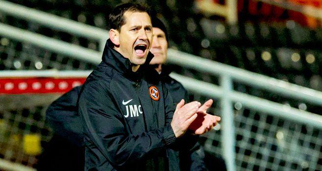 Jackie Mcnamara: Dundee United boss was pleased with his team