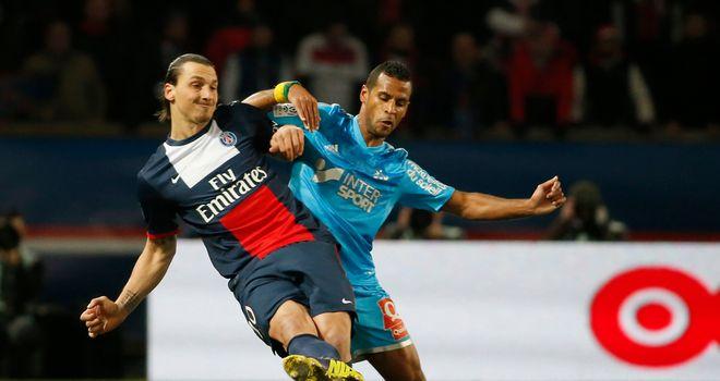 Zlatan Ibrahimovic stays in control