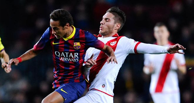 Ruben Rochina: Couldn't net for Rayo Vallecano