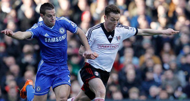 Scott Parker (right): Hopes Fulham hit the ground running