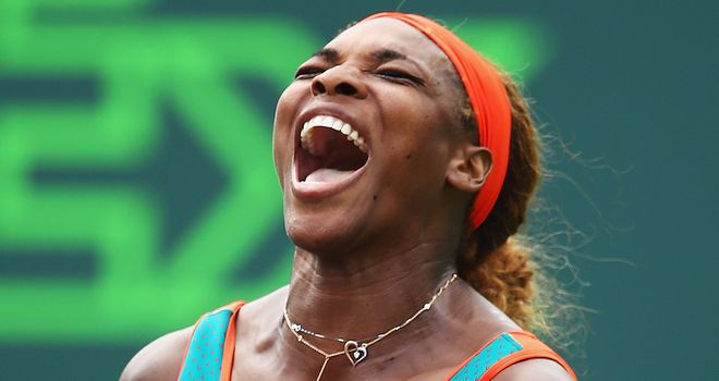 Serena Williams: Through to the fourth round in Miami