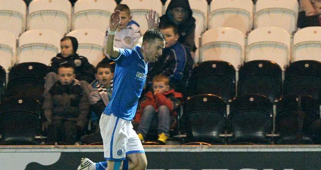 Steven Maclean: Netted late winner for St Johnstone against Aberdeen
