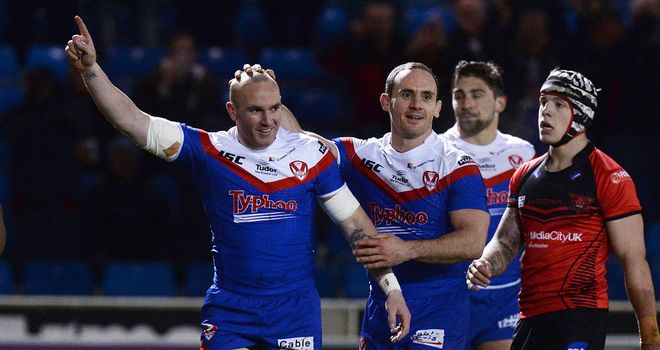 St Helens have won all five of their game this season following Friday's triumph over Catalans