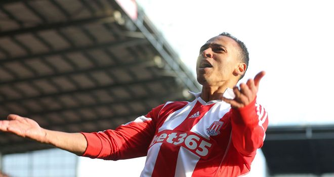 Peter Odemwingie: Scored twice for Stoke
