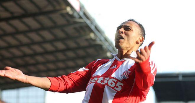Peter Odemwingie: Scored twice for Stoke