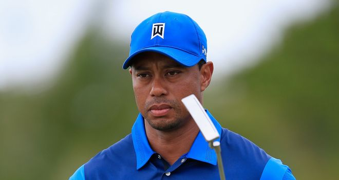 Tiger Woods: Struggled badly on the greens