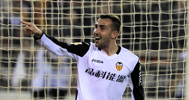 Paco Alcacer: Hat-trick secured Valencia's progress to last four
