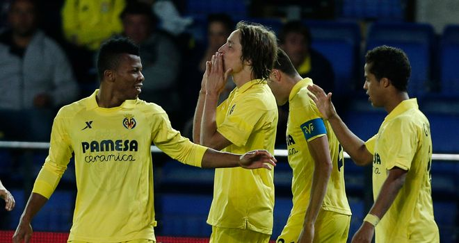 Villarreal came from a goal down to draw
