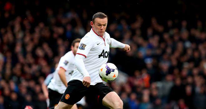 Wayne Rooney: Scoring his first