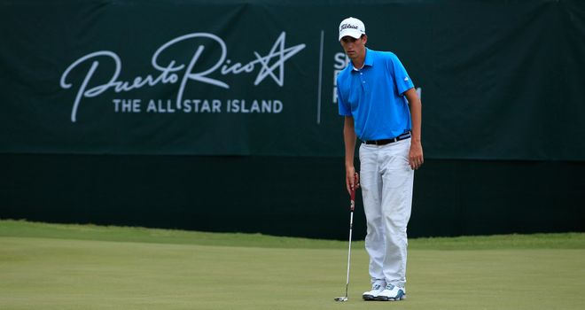 Chesson Hadley: American birdied four out of five holes from the second on Saturday