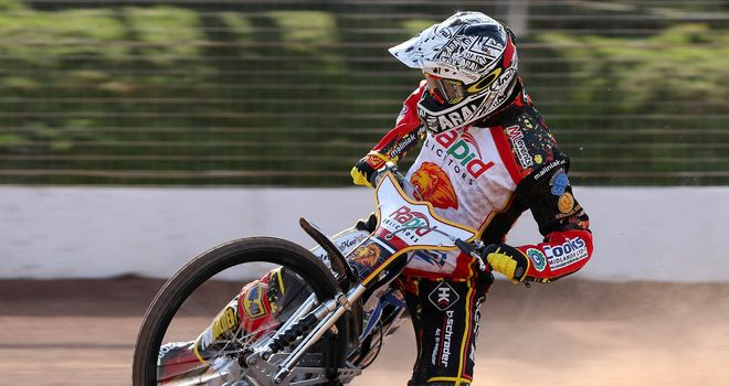 Patrick Hougaard: Taking break from Leicester Lions Speedway (Picture credit Steve Dixon Photography)