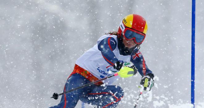 Jade Etherington: Claimed a third medal of the Sochi Games alongside guide Caroline Powell