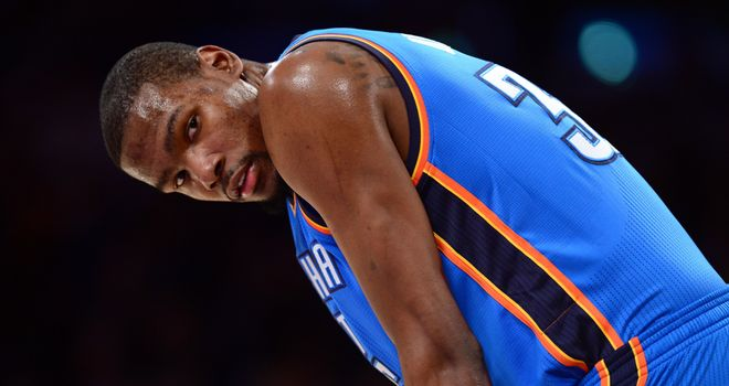 Kevin Durant: Continues to top the NBA leading scorers charts