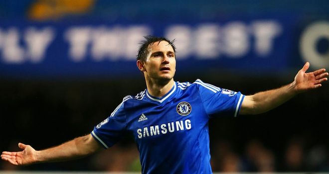 Frank Lampard: Delighted that Chelsea have lasted pace in title race