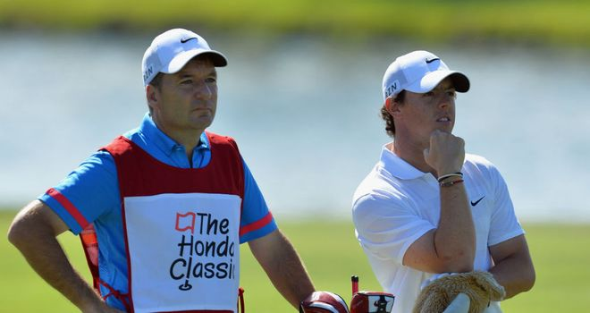 Rory McIlroy: Will take a two-shot lead into the final round in Florida