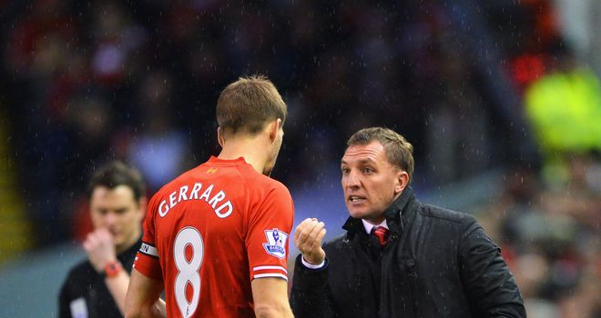 Steven Gerrard: Liverpool captain impressed by boss Brendan Rodgers