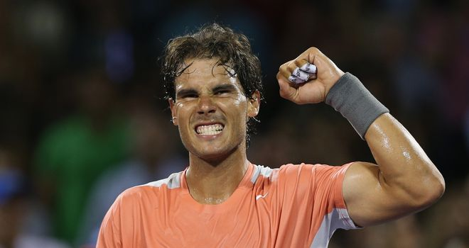 Rafael Nadal: Looking to win the tournament in Miami for the first time in his stellar career