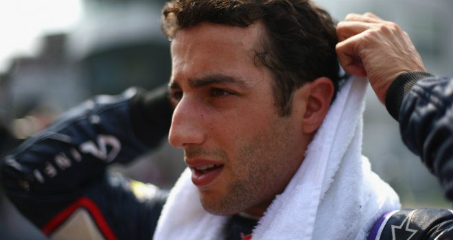 Daniel Ricciardo: Praised by his team boss