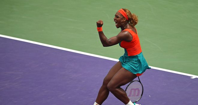 Serena Williams: Has won the prestigious Miami title seven times