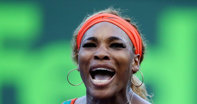 Serena Williams: Forced to work hard