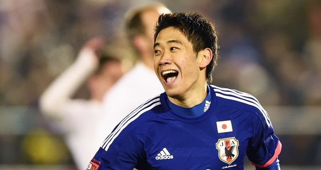 Shinji Kagawa: Scored Japan's second goal