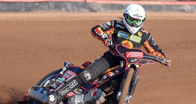 Adam Skornicki: Birmingham Brummies speedway ace is now out of hospital (Picture credit Jeff Davies)