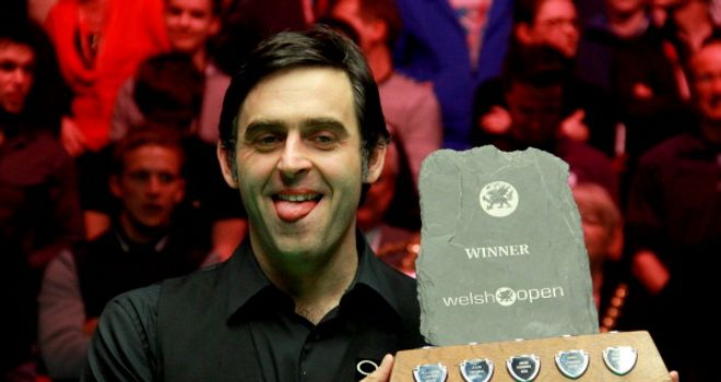 Ronnie O'Sullivan: Has been in brilliant form all week long in Newport