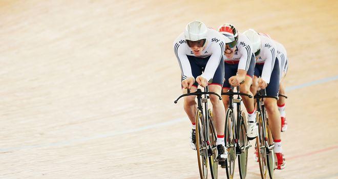 GB's team pursuit men will head to Paris next year