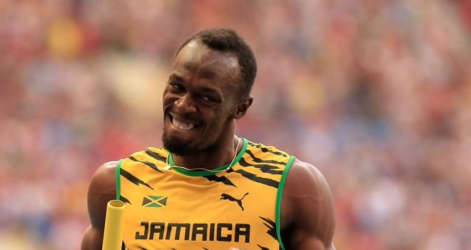 Usain Bolt: The Jamaican superstar will run the 4x100 at the Commonwealth Games after recovering from surgery.