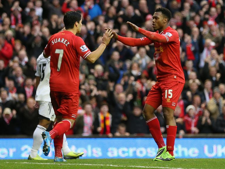 Daniel Sturridge and Luis Suarez: In the team of the year