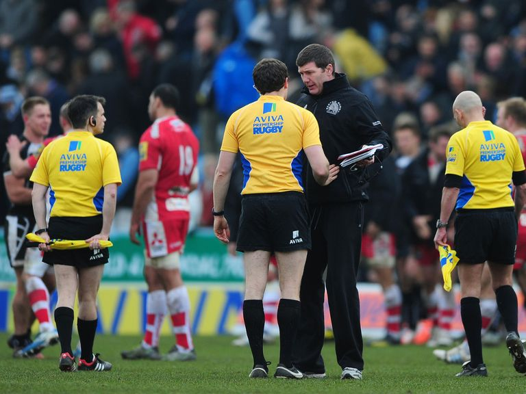 Rob Baxter: Expects his side to be motivated