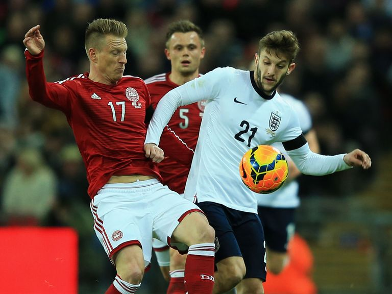 Lallana: Delighted to be on the winning side with England