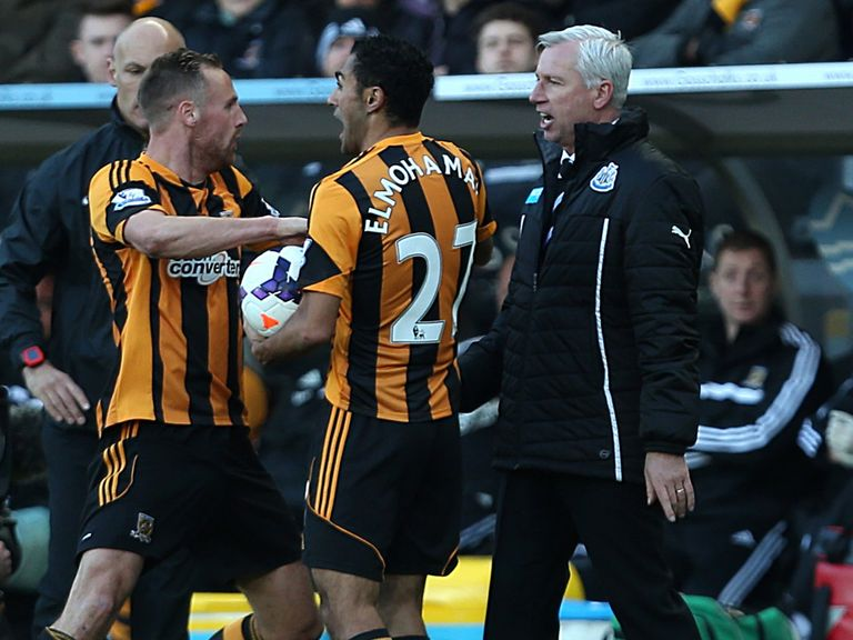Alan Pardew: His actions provide the main talking point