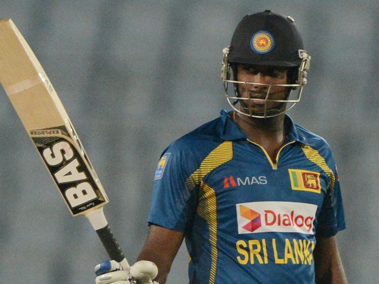 Angelo Mathews: Sri Lanka captain