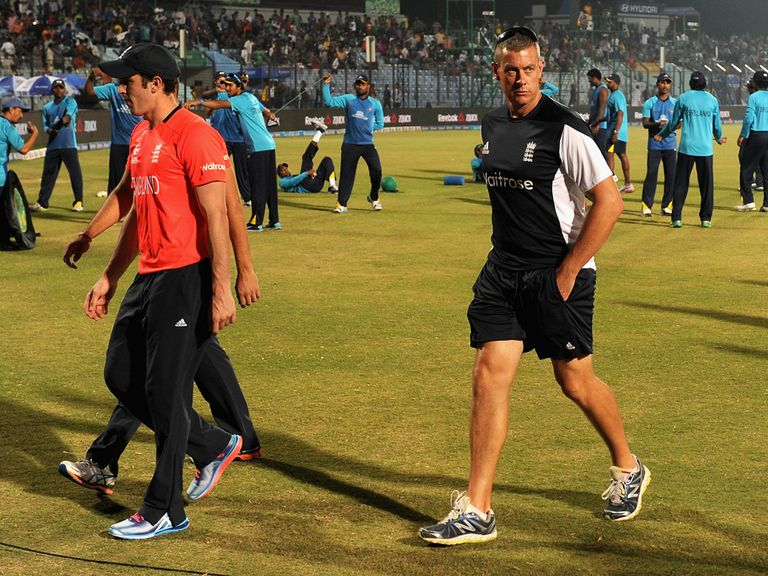 Ashley Giles: Insists he's still up for the task of taking England forward