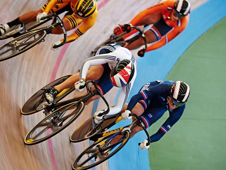 Becky James won a bronze medal