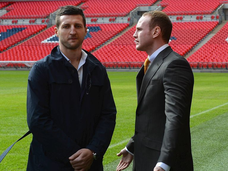 Carl Froch (l): Has gone 'old school' ahead of Groves rematch