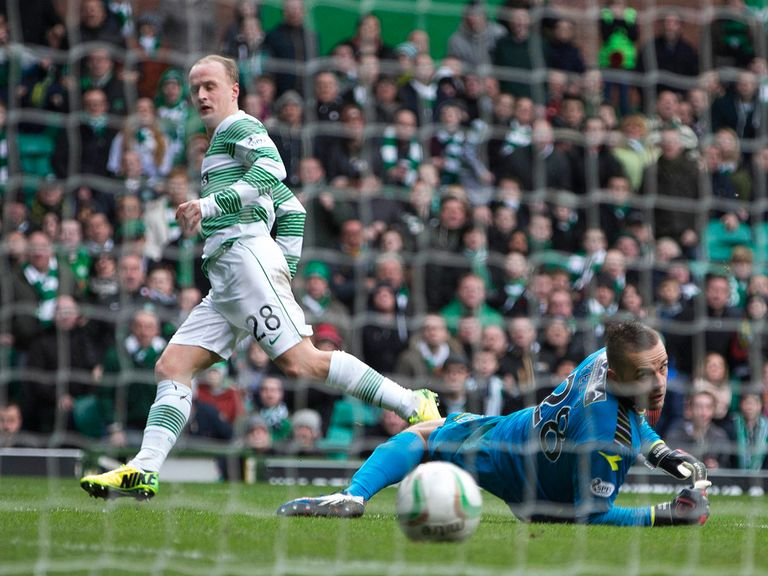 Leigh Griffiths nets for Celtic against St Mirren
