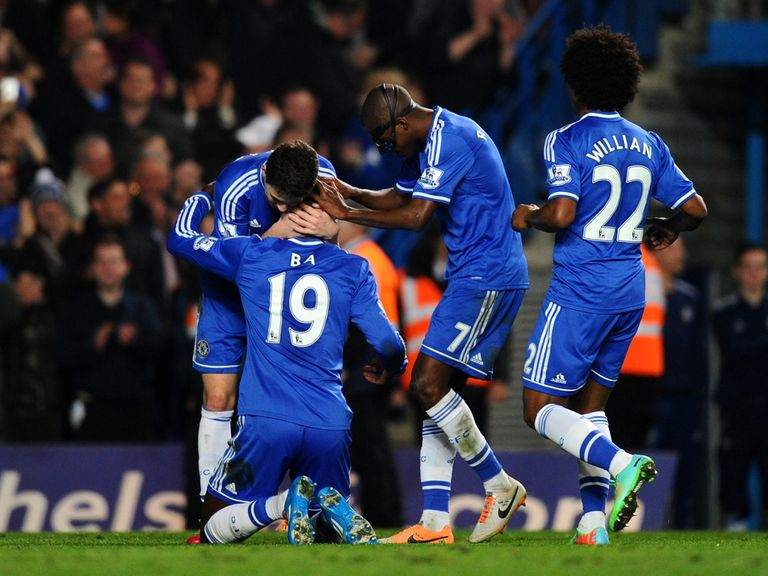Odds-on Chelsea stretched their lead at the top