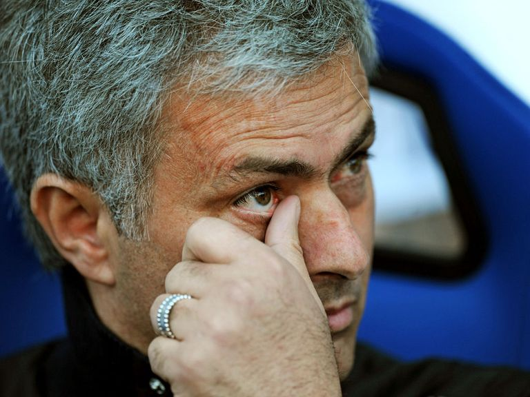 Jose Mourinho: Conceded title after 1-0 loss